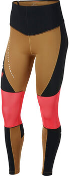 Nike Power Graphic Training tight Dames Geel