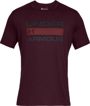Under Armour Team Issue Wordmark shirt Heren Paars