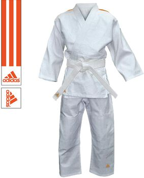 adidas Evolution II judopak Heren Wit