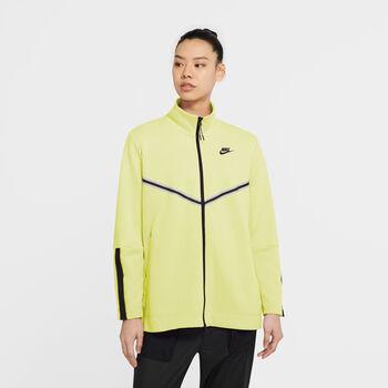 Nike Sportswear Tech Fleece hoodie Dames Geel
