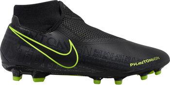 Nike Phantom Vision Academy Dynamic Fit FG/MG voetbalschoenen Heren Zwart