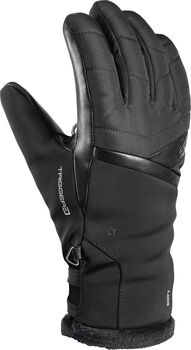 Leki Snowfox 3D handschoenen Dames Zwart