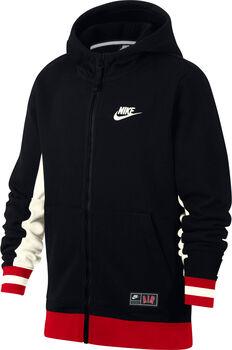 Nike Air hoodie Jongens Zwart