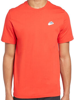 Nike Men's T-Shirt Heren Rood