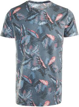 Brunotti Jason Leaf-AO t-shirt Heren Blauw