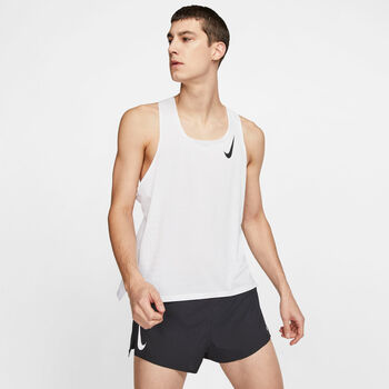 Nike AeroSwift top Heren Wit