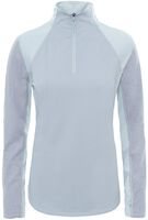 The North Face Motivation 1/4 midlayer Dames Grijs