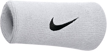 Nike Accessoires Swoosh Doublewide polsband Wit