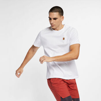 Nike Court Heritage shirt Heren Wit