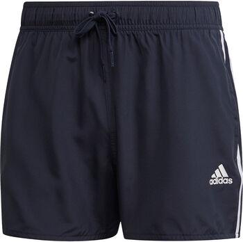 adidas 3-Stripes CLX zwemshort Heren Blauw