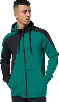 Reebok One Series Training Colorblock hoodie Heren Groen