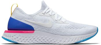 Nike Epic React Flyknit hardloopschoenen Dames Wit