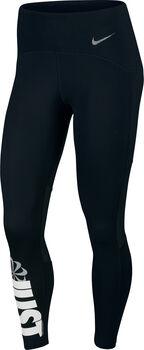 Nike Speed 7/8 Running legging Dames Zwart