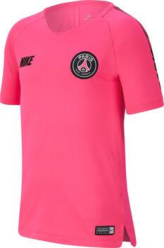 Nike Breathe Paris Saint-Germain Squad shirt Jongens Rood