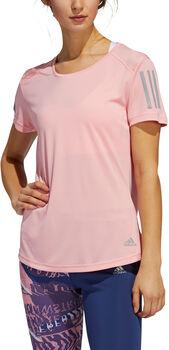 ADIDAS Own The Run shirt Dames Rood
