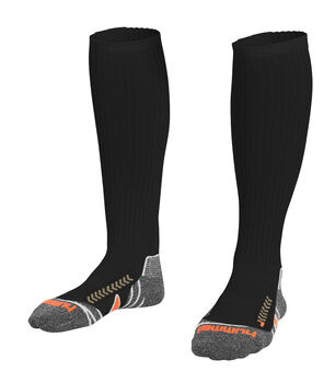 Hummel Chevron Sock Long Heren Zwart