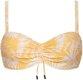 Beach Life Multiway bikinitop Dames Geel
