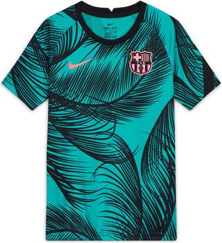 Nike FC Barcelona Dri-FIT kids top 20/21 Jongens Groen