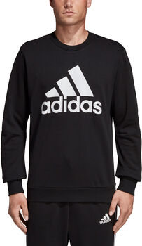 adidas Must Haves Badge of Sport sweater Heren Zwart