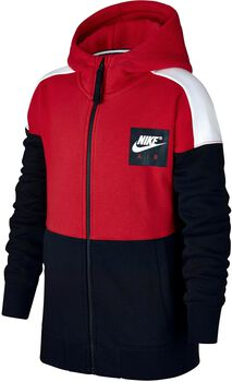 Nike Air Hoodie vest Rood