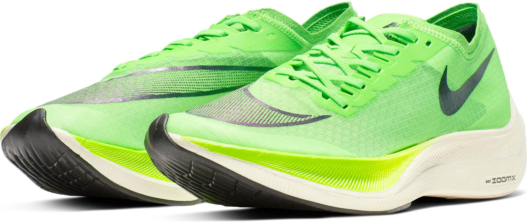 Nike ZoomX Vaporfly Next% hardloopschoenen Heren Groen ...