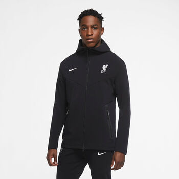 Nike Liverpool FC Tech Pack Full-Zip hoodie 20/21 Heren Zwart
