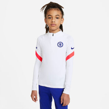 Nike Chelsea FC Strike Drill kids top 20/21 Jongens Wit