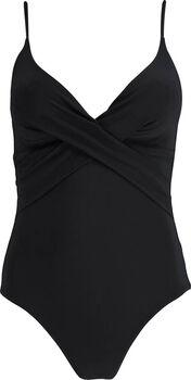 Barts Solid Shaping badpak Dames Zwart