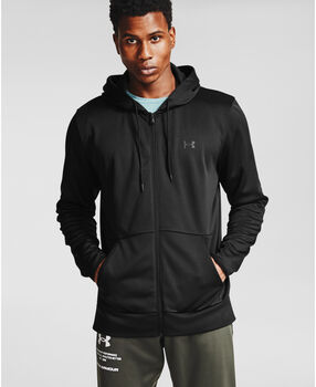 Under Armour Armour Fleece® Full Zip hoodie Heren Zwart