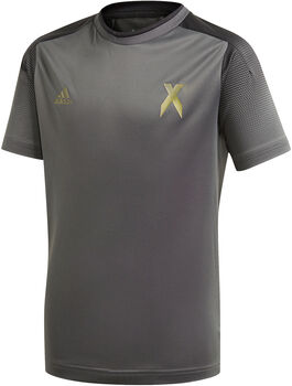 adidas Football Inspired X AEROREADY kids shirt Jongens Grijs