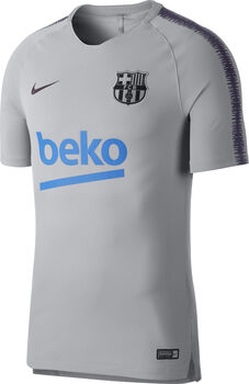 Nike Breathe FC Barcelona Squad shirt Heren Zwart