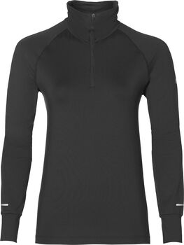 Asics Thermopolis 1/2 Zip sweater Dames Zwart
