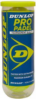 Dunlop Pro Padel ballen Geel