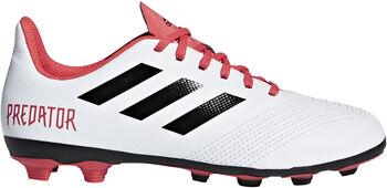 ADIDAS Predator 18.4 FXG jr voetbalschoenen Wit