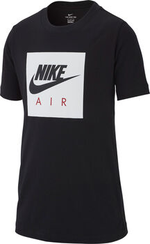 Nike Sportsweat Air Box shirt Zwart