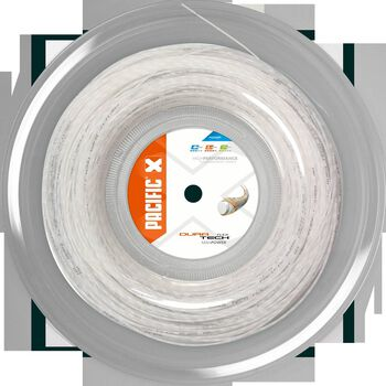 Pacific Dura Tech Flex 200M  1.38mm tennissnaar Wit