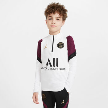 Nike Paris Saint-Germain Strike kids top 20/21 Jongens Wit