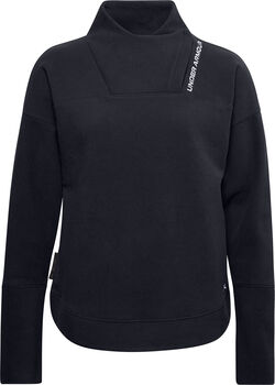 Under Armour Recover Fleece Wrap hoodie Dames Zwart