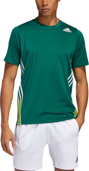 adidas FreeLift 3-Stripes shirt Heren Groen