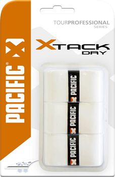 Pacific X Tack Dry 0.55mm tennis overgrip Wit