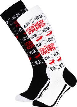 Falcon Snow skisokken Dames Zwart