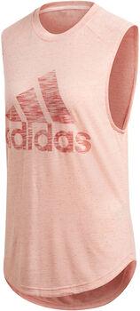 ADIDAS ID Winners Muscle shirt Dames Oranje