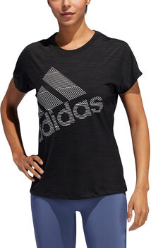 ADIDAS Badge of Sport shirt Dames Zwart