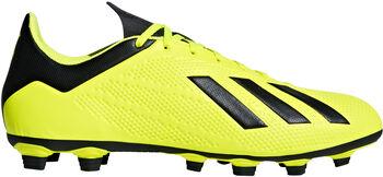 ADIDAS X 18.4 FG voetbalschoenen Heren Geel