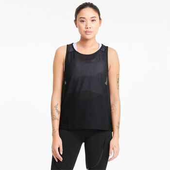 Puma Train Mesh top Dames Zwart