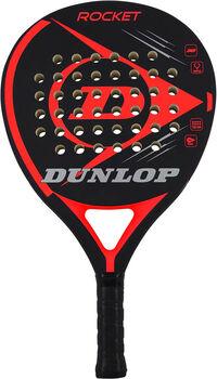 Dunlop Rocket Red padelracket Zwart