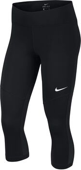 Nike Fly Victory 3/4 tight Dames Zwart