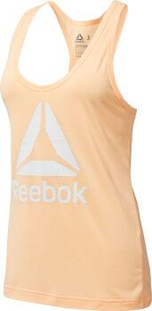 Reebok Workout Ready Supremium 2.0 top Dames Zwart