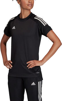 ADIDAS Condivo 20 trainingsshirt Dames Zwart