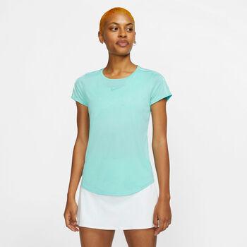 Nike Court Dry shirt Dames Blauw